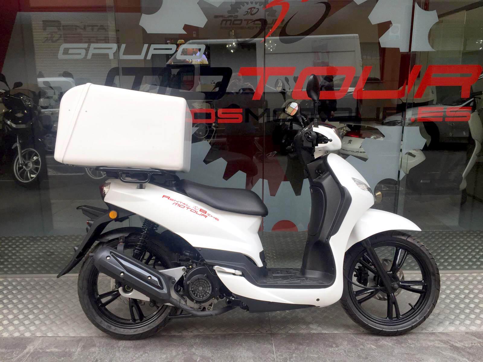 Peugeot tweet moto 125 renting repartidores