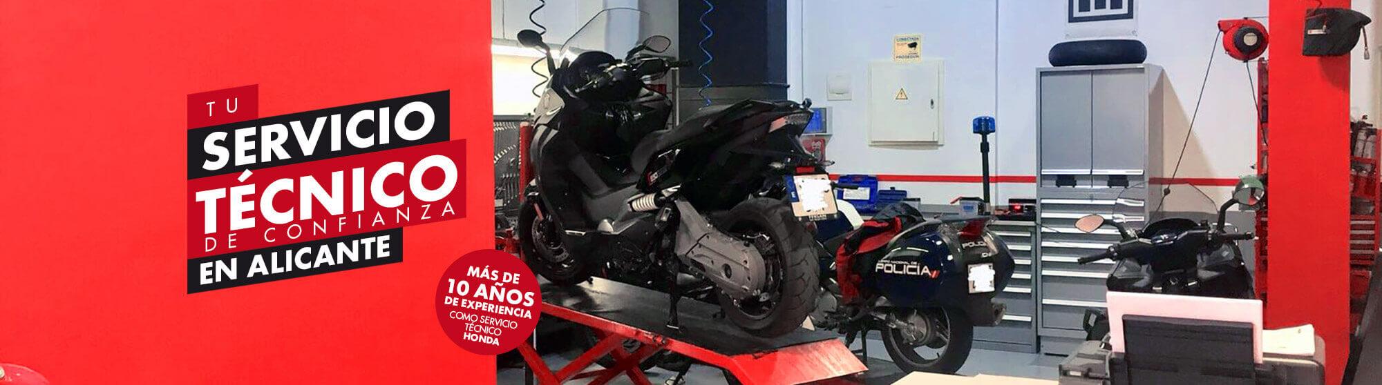 servicio técnico motos renting