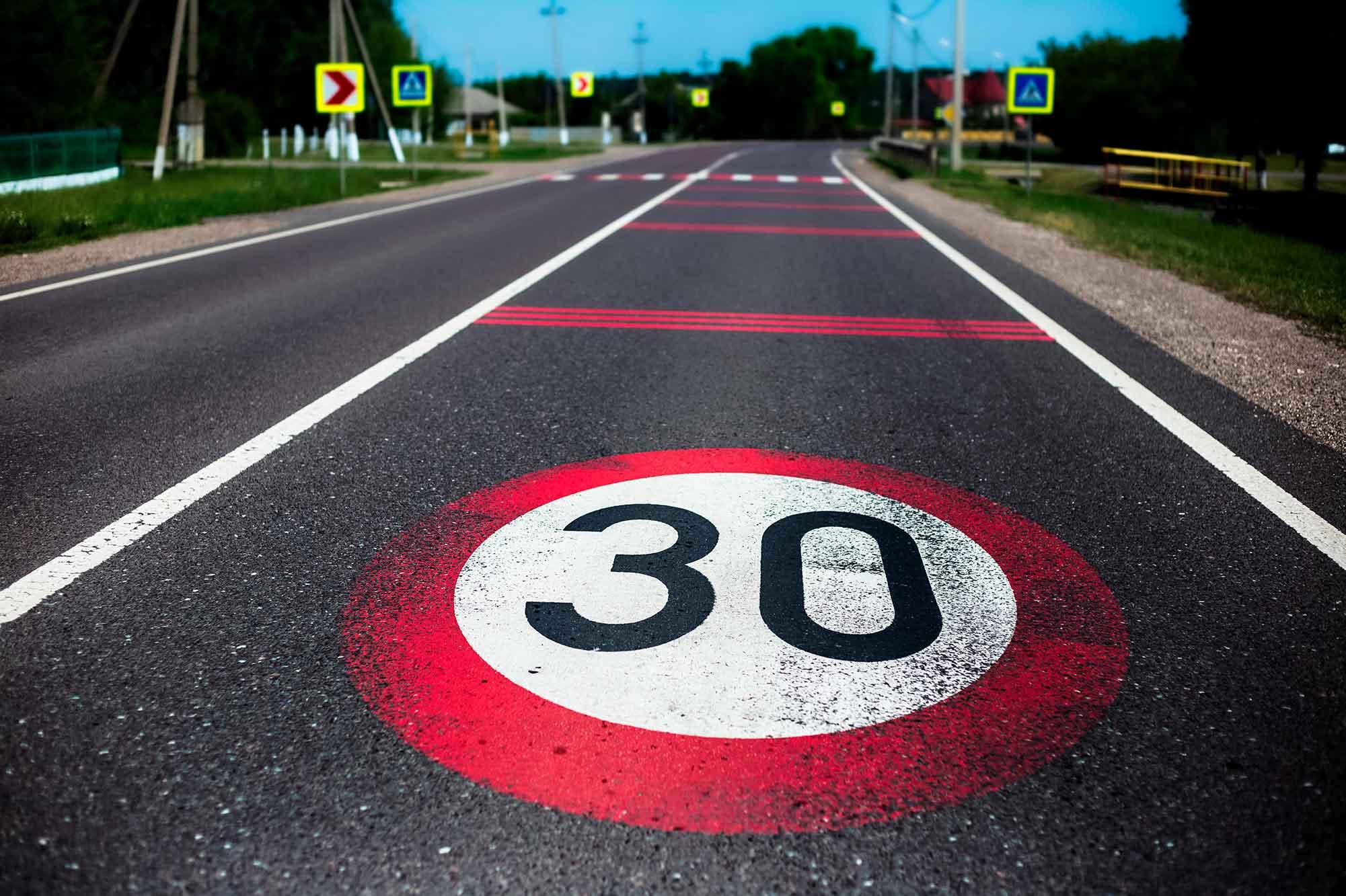 ¿Cuáles son los nuevos límites de velocidad?